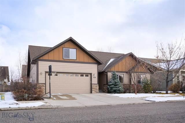 958 Harmon Way, Bozeman, MT 59718 (MLS #344327) :: Hart Real Estate Solutions