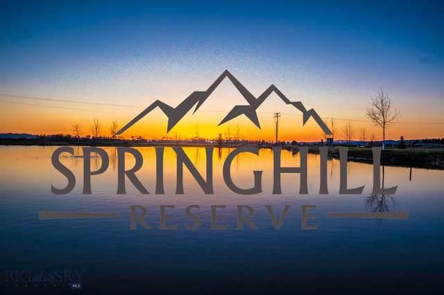 Lot 41 Springhill Reserve, Bozeman, MT 59715 (MLS #344838) :: Hart Real Estate Solutions