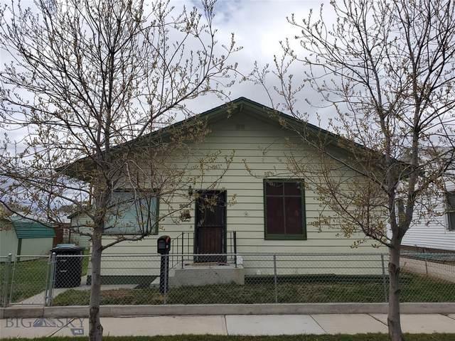 2027 Phillips Avenue, Butte, MT 59701 (MLS #345201) :: Black Diamond Montana