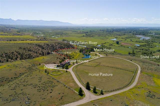 240 Meken Ranch Road, Manhattan, MT 59741 (MLS #346120) :: Montana Home Team