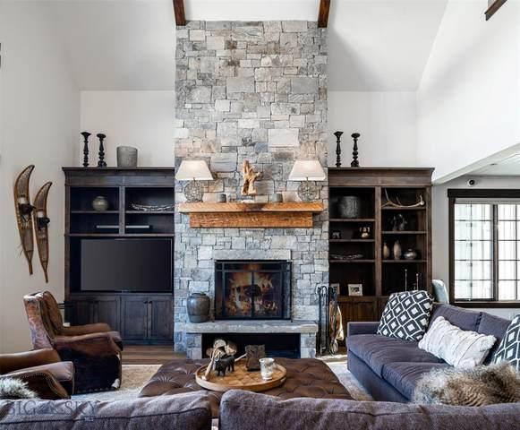 15 Upper Moose Hill Road #15, Big Sky, MT 59716 (MLS #349496) :: Hart Real Estate Solutions