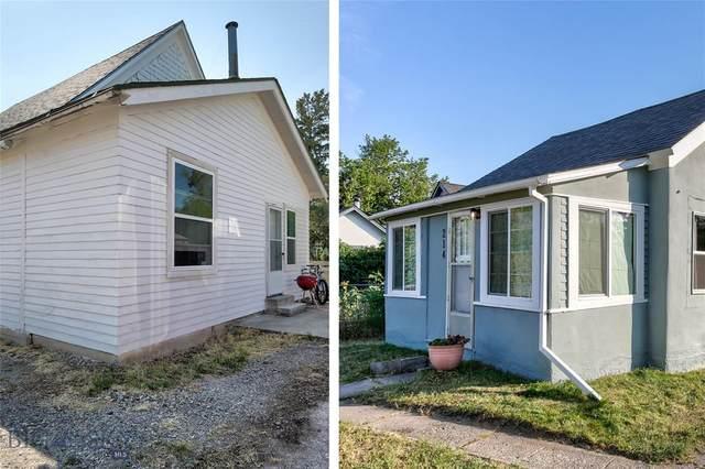 212/214 S E Street, Livingston, MT 59047 (MLS #349987) :: Montana Life Real Estate