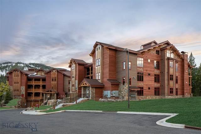 7 Sitting Bull Road #2103, Big Sky, MT 59716 (MLS #350074) :: Black Diamond Montana