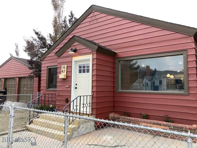 1647 Florence Avenue, Butte, MT 59701 (MLS #351127) :: Coldwell Banker Distinctive Properties