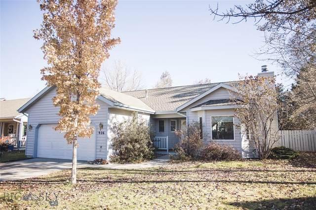 926 Brentwood Avenue, Bozeman, MT 59718 (MLS #351295) :: Montana Life Real Estate