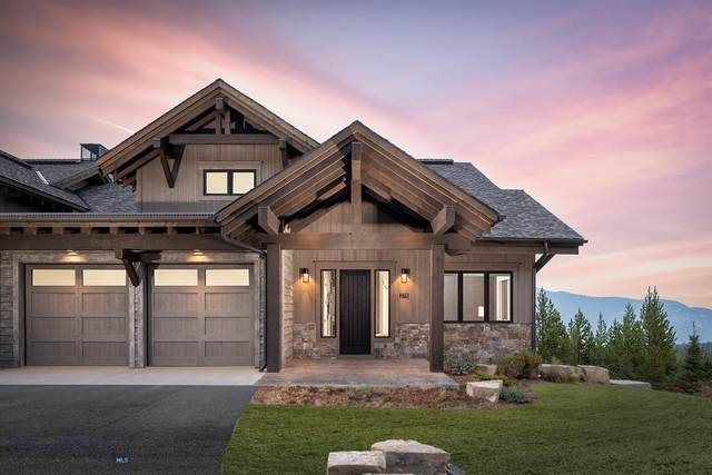 160 Pale Morning Spur, Big Sky, MT 59716 (MLS #352650) :: Hart Real Estate Solutions