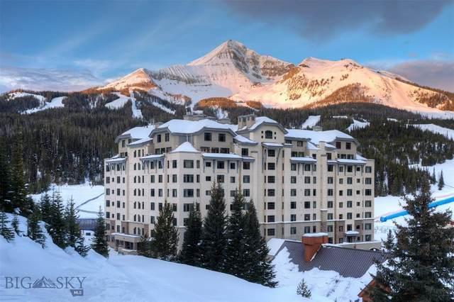 60 Big Sky Resort Rd, Summit 10,608 Road, Big Sky, MT 59716 (MLS #355052) :: L&K Real Estate