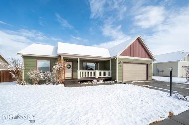 41 Tree Line Lane, Bozeman, MT 59718 (MLS #355736) :: Coldwell Banker Distinctive Properties