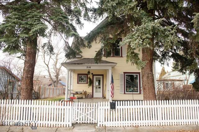 216 S I Street, Livingston, MT 59047 (MLS #356086) :: Coldwell Banker Distinctive Properties