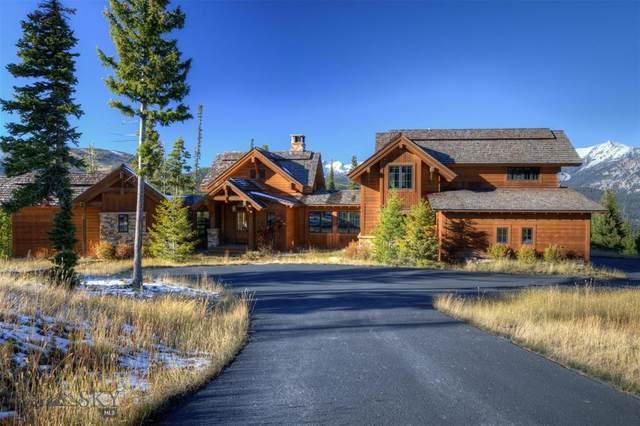 282 Old Moose Fork, Big Sky, MT 59716 (MLS #356616) :: Coldwell Banker Distinctive Properties
