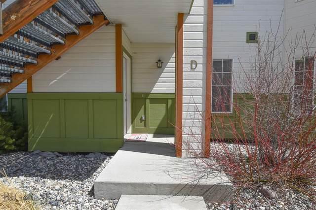 1098 Longbow Lane D, Bozeman, MT 59718 (MLS #357315) :: Hart Real Estate Solutions
