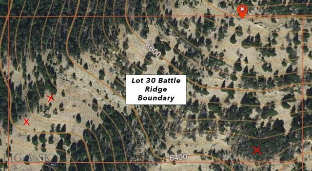 Lot 30 Battle Ridge Ranch, Bozeman, MT 59715 (MLS #357334) :: Coldwell Banker Distinctive Properties