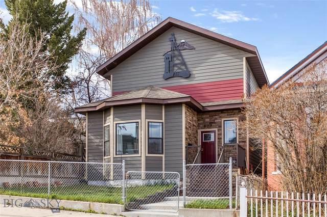 827 W Quartz, Butte, MT 59701 (MLS #357449) :: Hart Real Estate Solutions