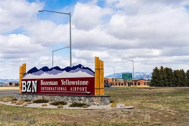 Hangar 167 B Gallatin Field Airport, Belgrade, MT 59714 (MLS #357702) :: Montana Life Real Estate