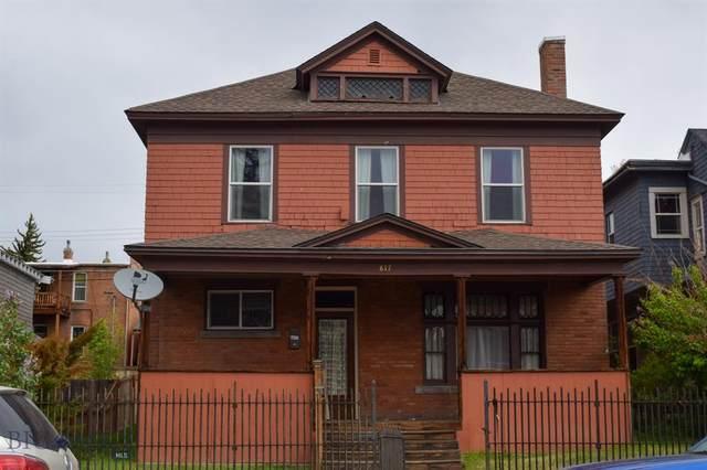 817 W Silver Street, Butte, MT 59701 (MLS #358168) :: Black Diamond Montana