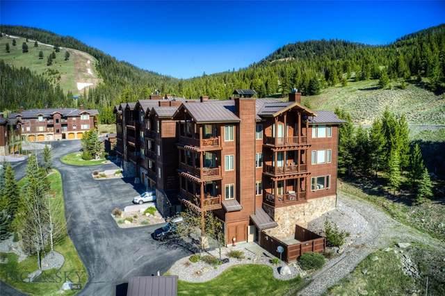 35 Flat Iron Drive Unit #312 D, Big Sky, MT 59716 (MLS #359373) :: Montana Life Real Estate