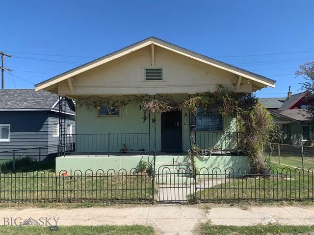 1719 Wall, Butte, MT 59701 (MLS #359480) :: L&K Real Estate