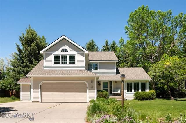 413 Fieldstone Drive, Bozeman, MT 59715 (MLS #359773) :: Hart Real Estate Solutions