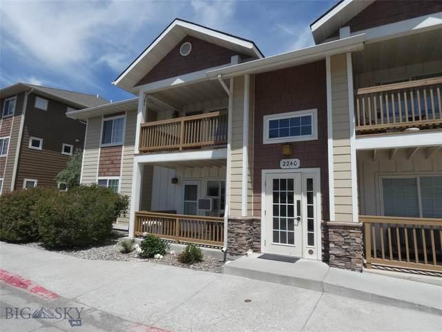 2240 Baxter, Unit 5, Bozeman, MT 59718 (MLS #359889) :: Carr Montana Real Estate