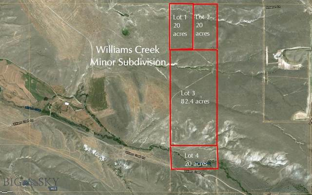 NHN Williams Creek Road Lots 1, 2, 3, 4, Alder, MT 59710 (MLS #360285) :: L&K Real Estate