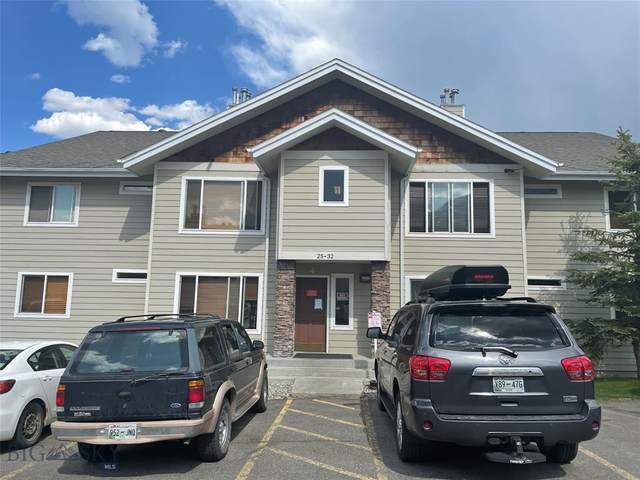 13 Moose Ridge #30, Big Sky, MT 59716 (MLS #360329) :: Montana Mountain Home, LLC