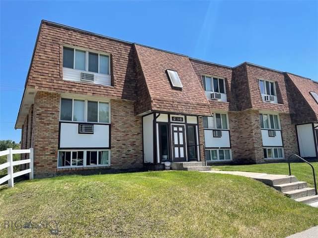 1104 S Montana Ave Unit G3, Bozeman, MT 59715 (MLS #360403) :: Hart Real Estate Solutions