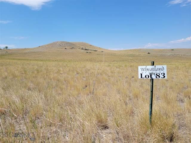 Lot 83 Wheatland Meadows Drive, Three Forks, MT 59752 (MLS #360488) :: Montana Life Real Estate