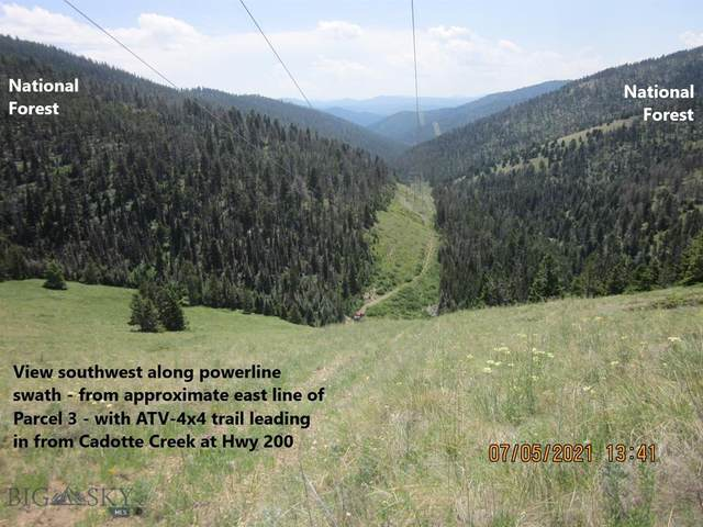 Parcel 3 Powerline Trail, Lincoln, MT 59639 (MLS #360571) :: Black Diamond Montana