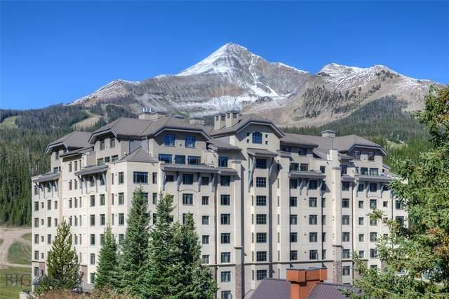 60 Big Sky Resort 407&408, Big Sky, MT 59716 (MLS #360713) :: Montana Life Real Estate
