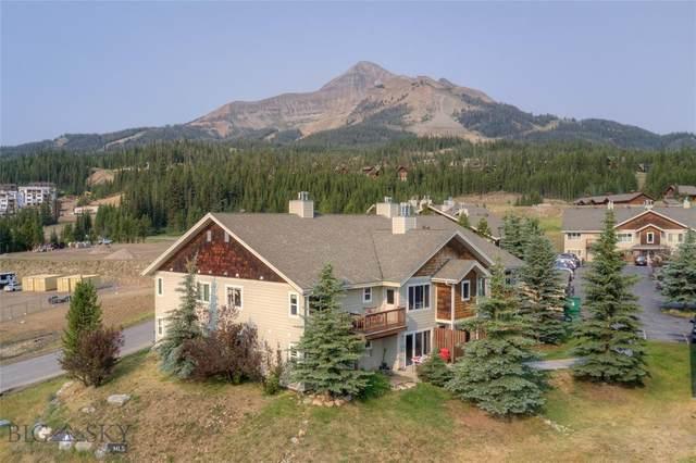 13 Moose Ridge Road #39, Big Sky, MT 59716 (MLS #360972) :: Black Diamond Montana