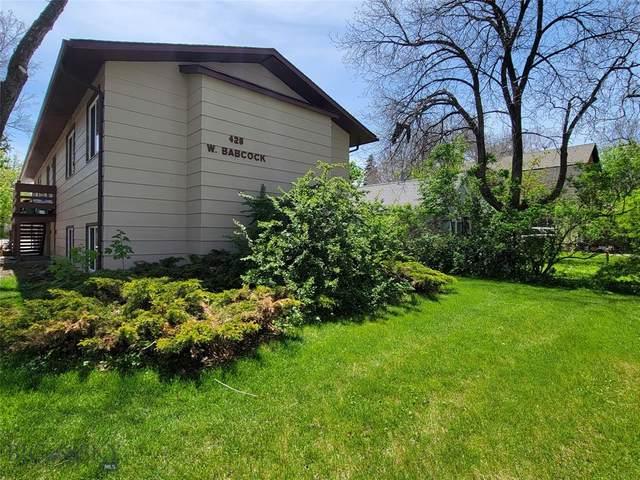428 W Babcock, Bozeman, MT 59715 (MLS #360996) :: Berkshire Hathaway HomeServices Montana Properties