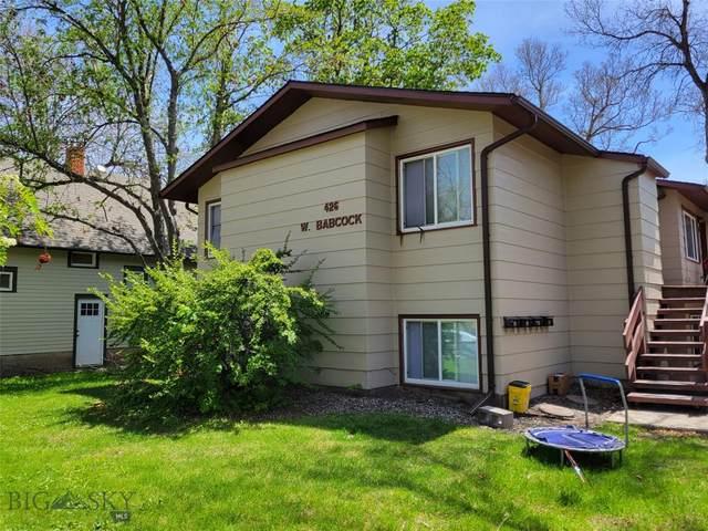 426 W Babcock, Bozeman, MT 59715 (MLS #360997) :: Berkshire Hathaway HomeServices Montana Properties