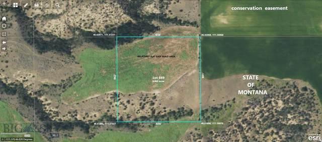 Lot 649 Wheatfield Road, Three Forks, MT 59752 (MLS #361134) :: Berkshire Hathaway HomeServices Montana Properties