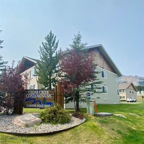 13 Moose Ridge #23, Big Sky, MT 59716 (MLS #361238) :: Montana Mountain Home, LLC