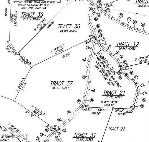 Lot 37 Tenderfoot Trail, Ramsay, MT 59748 (MLS #361829) :: Berkshire Hathaway HomeServices Montana Properties