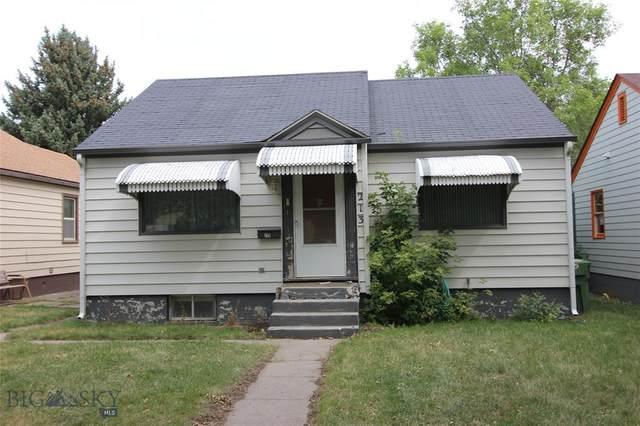 213 S 11th Street, Livingston, MT 59047 (MLS #361912) :: Montana Life Real Estate