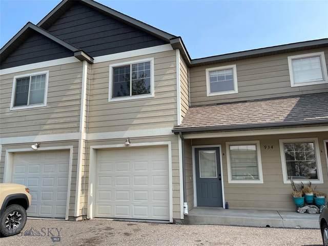 934 Saxon Way, Unit B, Bozeman, MT 59715 (MLS #362009) :: Montana Life Real Estate