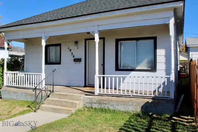 1936 Utah Avenue, Butte, MT 59701 (MLS #362663) :: Montana Life Real Estate
