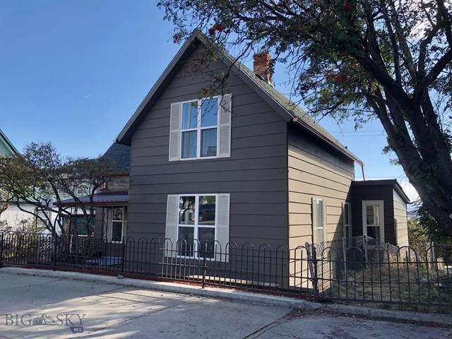 304 W Granite, Butte, MT 59701 (MLS #364183) :: Montana Mountain Home, LLC