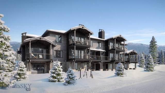 6 Wildwood Road W #7, Big Sky, MT 59716 (MLS #330547) :: Hart Real Estate Solutions