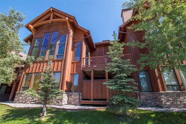 14 Black Eagle Drive #14, Big Sky, MT 59716 (MLS #338127) :: Hart Real Estate Solutions