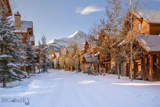 29 Black Eagle Road #29, Big Sky, MT 59716 (MLS #340727) :: Black Diamond Montana