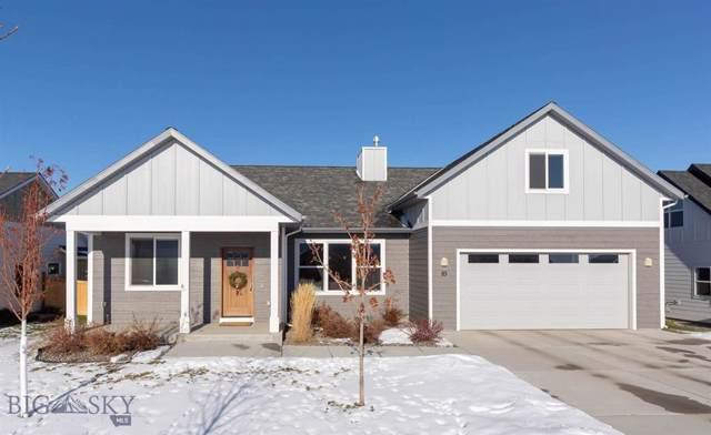 83 E E Granite Peak Drive, Bozeman, MT 59718 (MLS #341254) :: Hart Real Estate Solutions