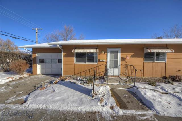 1120 W Babcock Street #3, Bozeman, MT 59715 (MLS #341506) :: Hart Real Estate Solutions