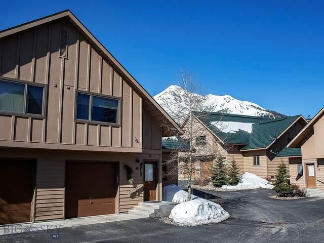 12 Running Bear Road #48, Big Sky, MT 59716 (MLS #345035) :: Hart Real Estate Solutions