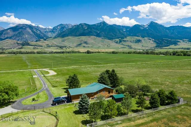 66 Frelich Lane, Paradise Valley, MT 59047 (MLS #346843) :: Black Diamond Montana