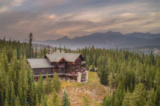 40 Saddle Horn Road, Big Sky, MT 59716 (MLS #349979) :: Montana Life Real Estate