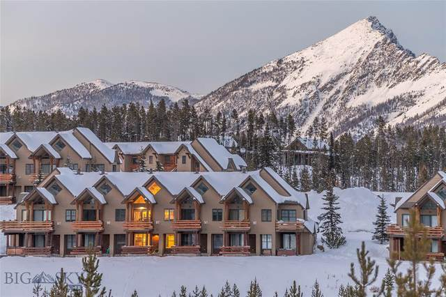 11 Saddle Ridge Road G3, Big Sky, MT 59716 (MLS #350610) :: Montana Life Real Estate