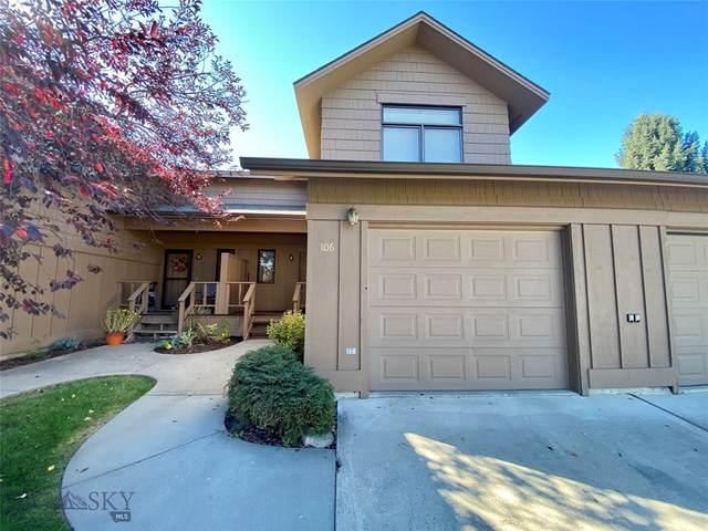 3610 Broadwater St #106, Bozeman, MT 59718 (MLS #359705) :: Montana Mountain Home, LLC