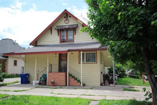 503 & 503 1/2 S Black Avenue, Bozeman, MT 59715 (MLS #328592) :: Hart Real Estate Solutions